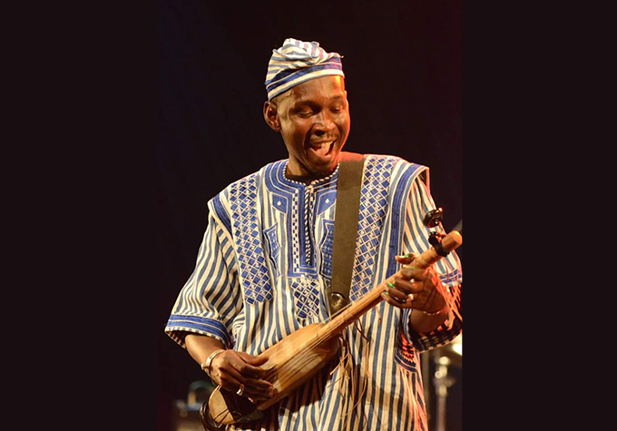 Aboubacar Djiga alias PAPA leader du groupe Kundé Blues