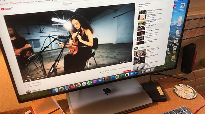 ecran video streaming